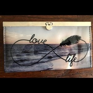 Love life infinity sign  wallet